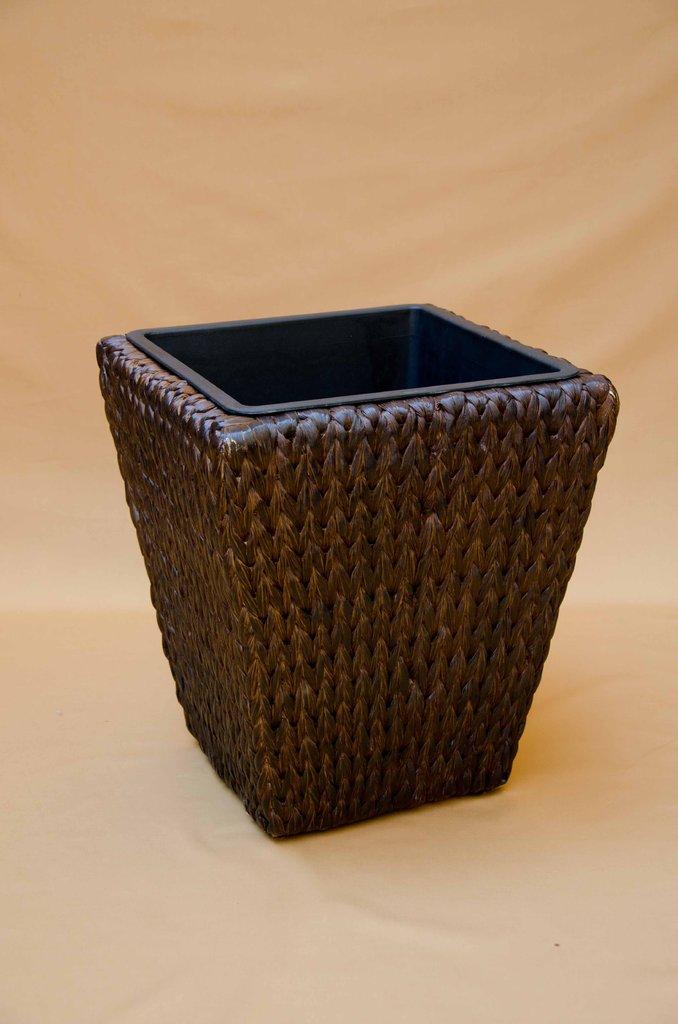 pflanzkorb gro mokkabraun korbwaren kraus. Black Bedroom Furniture Sets. Home Design Ideas